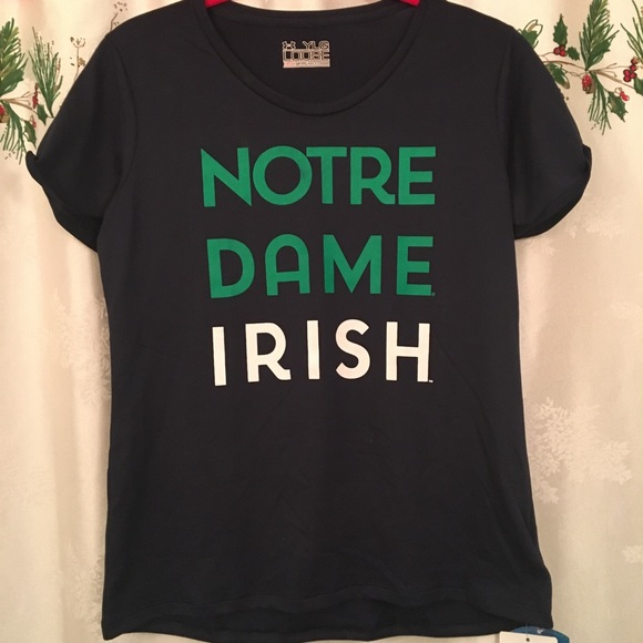 Under Armour Other - Under Armour Notre Dame Irish Youth L girls tee